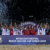 Iran crowned Intercontinental Beach Soccer Cup champions