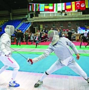FIE Junior World Cup held in Tehran