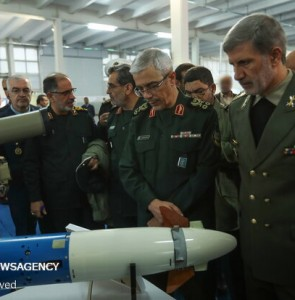 Mehr News Agency - Top military chiefs visit defense achievements expo