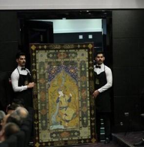 Safavid-era carpet fetches bout $1.2 million at Iran's National Auction