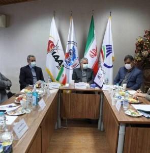 NOC president Salehi Amiri visits Iran athletics federation