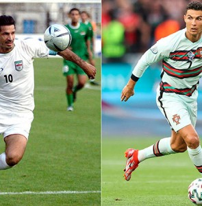 Daei felicitates Ronaldo over equaling his record