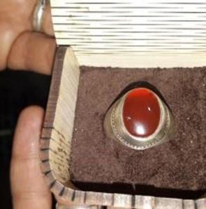 Martyr Lt. Gen. Soleimani's ring registered as national asset
