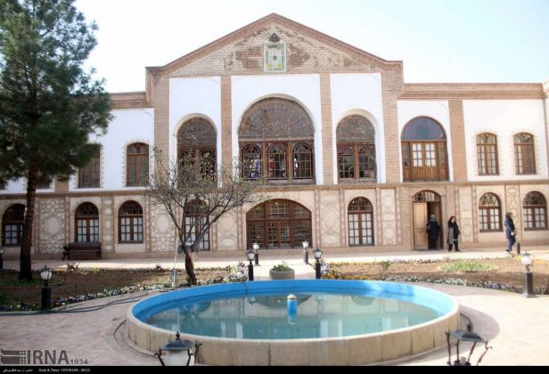 Iran's Beauties in Photos: Amir Nezam Garousi Mansion
